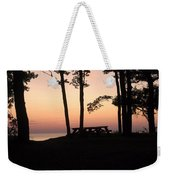 Evening Picnic Weekender Tote Bag