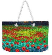 Evening Poppies Weekender Tote Bag