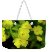 Evening Primrose Weekender Tote Bag