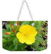 Yellow Sundrop Weekender Tote Bag