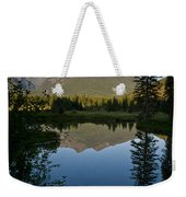 Evening Reflection Weekender Tote Bag