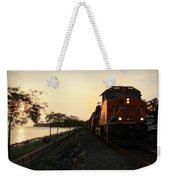 Evening Ride Weekender Tote Bag