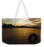 Evening River Weekender Tote Bag
