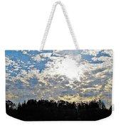 Evening Shadows Weekender Tote Bag