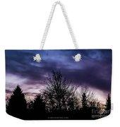 Evening Silhouettes  Weekender Tote Bag