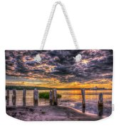 Evening Skies Weekender Tote Bag