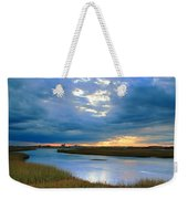 Evening Sky Over Hatches Harbor, Provincetown Weekender Tote Bag