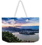 Evening Sky Over Rio De Janeiro Weekender Tote Bag