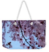 Evening Sky Pink Blossoms Art Prints Canvas Spring Baslee Troutman Weekender Tote Bag