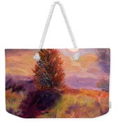 Evening Splendor Weekender Tote Bag
