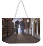 Evening Stroll Weekender Tote Bag