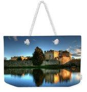 Evening Sun At Leeds Castle Weekender Tote Bag