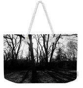 Evening Sun Through The Trees Weekender Tote Bag