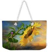 Evening Sunflower Weekender Tote Bag