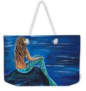 Evening Tide Mermaid Weekender Tote Bag