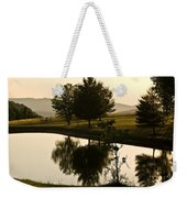 Evening Tide On The Farm Weekender Tote Bag