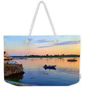 Evening Tranquility Weekender Tote Bag