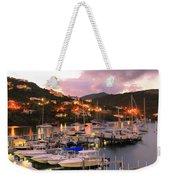 Evening Twilight At Oyster Pond, St. Martin Weekender Tote Bag