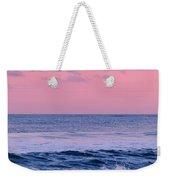 Evening Waves 2 - Jersey Shore Weekender Tote Bag
