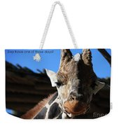 Ever Have One Of Those Days Weekender Tote Bag