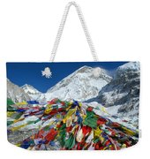 Everest Base Camp Weekender Tote Bag