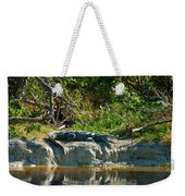 Everglades Crocodile Weekender Tote Bag