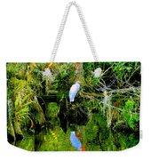 Everglades Egret Weekender Tote Bag