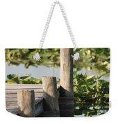 Everglades Pier Weekender Tote Bag