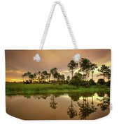 Everglades Sunrise Weekender Tote Bag
