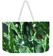 Evergreen Dew Weekender Tote Bag