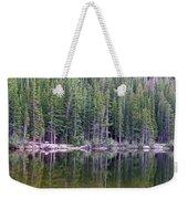 Evergreen Reflections Weekender Tote Bag