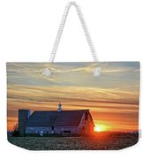 Evergreen Sunset Weekender Tote Bag