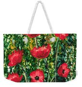 Every Dream Turns Up Poppies Weekender Tote Bag