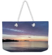 Every Morning Is Different - Toronto Skyline With An Awesome Cloudbank Weekender Tote Bag