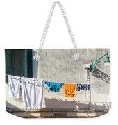 Everyday Life In Venice Weekender Tote Bag