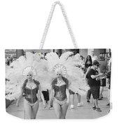 Everyday Showgirls  Weekender Tote Bag