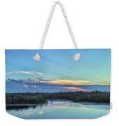 Everyglades Sunset Weekender Tote Bag