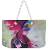 Everything A Mistake-abstract Red Painting Weekender Tote Bag