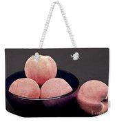 Everything Is Just Peachy Weekender Tote Bag