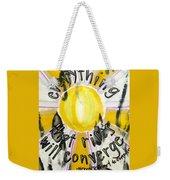 Everything That Rises Weekender Tote Bag