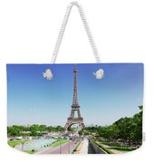 Eviffel Tower With Fountains Weekender Tote Bag