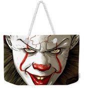 Evil Clown Weekender Tote Bag