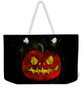 Evil Halloween Pumpkin Weekender Tote Bag