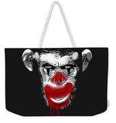 Evil Monkey Clown Weekender Tote Bag