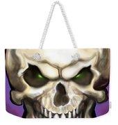 Evil Skull Weekender Tote Bag