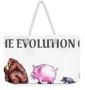 Evolution Weekender Tote Bag