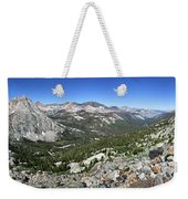 Evolution Lake And Valley Panorama From Darwin Bench - Sierra Weekender Tote Bag