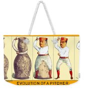 Evolution Of A Pitcher Weekender Tote Bag
