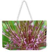 Evolving Allium Weekender Tote Bag