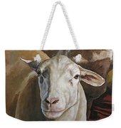 Ewes In The Paddock Weekender Tote Bag